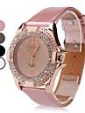 Пу женщин аналоговые кварцевые наручные часы (ассорти)