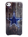 Stars LED Light-Emitting Hard Case for iPhone 4 and 4S