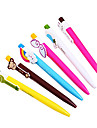 Cartoon Rainbow Color Ball Pen (Assorted Colors)