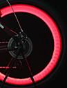 Eclairage de Velo / bicyclette Eclairage pour roues de velo Capots de feux clignotants Lampe Avant de Velo LED Cyclisme latar bateri sel
