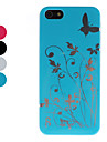 Butterfly and Flower Pattern Hard Case for iPhone 5/5S (Assorted Colors)
