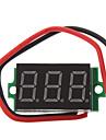 자동차 & 오토바이 및 전기 자동차 용 DIY 3 자리 LED 디지털 전압계 모듈 (4 ~ 30V)