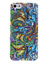 Dragon Pattern Hard Case for iPhone 5/5S