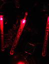 2.4M 20-светодиодный Bubble Стик форме Red Light струнного Fairy лампы на Рождество (3xAA)