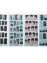 19pcs Full Cover Other Finger Nail Sticker