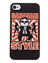 Смешные Gangnam Стиль Psy Pattern Жесткий чехол для iPhone 4