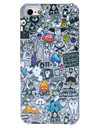Abstract Cartoon Pattern Hard Case for iPhone 5/5S