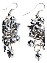 Women's Drop Earrings Crystal Alloy Jewelry For Party Daily