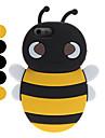 Мягкий 3D чехол с пчелой для iPhone 5 (разные цвета)