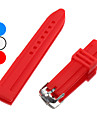 Unisex Silicone Watch Band 22MM (Assorted Colors)