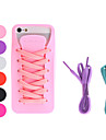 Shoe Design Soft Case with Shoelace for iPhone 5/5S (Assorted Colors)