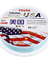 Light Blue Plastic High Quality/Durable Fishing Lines(100m,Random)