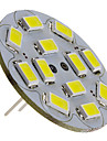 3 W 250 lm G4 LED Spotlight 12 LED Beads SMD 5730 Natural White 12 V