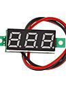 """V18 DIY 0,28 """"3-разрядный светодиодный цифровой вольтметр (черный + зеленый, 2,5 ~ 30V)"""