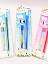 2PCS lápis / Lapiseira (cores aleatórias 1PCS)