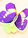contrôlables conduit de lumière en forme de papillon réfrigérateur aimant (couleurs aléatoires)