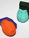 2PCS Съемная гранаты-Shaped Eraser (Random Color)
