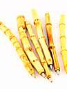 Imitação caneta de tinta esferográfica azul bambu