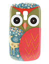 Red Owl Pattern Hard Case for Samsung Galaxy S3 Mini I8190