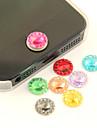 zircon bouton-autocollant de couleur acrylique joyland (1 paquet couleur aléatoire)