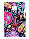 Colorful Flower Pattern Soft Case for LG Optimus L3 E400