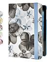 cas fleur de pêcher w / stand pour Mini iPad 3, iPad Mini 2, iPad mini (couleurs assorties)