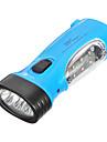 LED-9011 4-режимный 9xLED фонарь со встроенным аккумулятором, синий корпус
