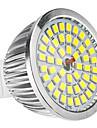 6w gu5.3 (mr16) spotlight conduzido mr16 48 smd 2835 500-600lm branco natural 6500k dc 12 ac 12v