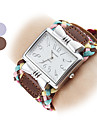 Women's Square Case Fashion Fabric Band Quartz Wrist Watch (Assorted Colors)  Cool Watches Unique Watches