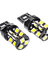 T20(7440,7443) Car White 3.5W SMD 5050 6000-6500 Turn Signal Light Brake Light CANBUS