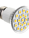 1pc 3 W 150 lm E26 / E27 LED Spotlight 21 LED Beads SMD 5050 Warm White / Cold White / Natural White 220-240 V