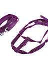 """Adjustable Reflective Line Harness with Leash for Pets Dogs Cats (Assorted Colors, 120cm/47.2"""")"""