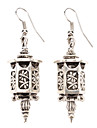 Exquisite Carving Lanterns Alloy Earring