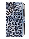 Tiger Pattern Twill PU Full Body Case for iPhone 4/4S (Optional Colors)