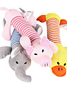 Cat Toy Dog Toy Pet Toys Chew Toy Squeak / Squeaking Cartoon Plush