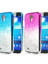 Waterdrop Gradient Color Transparent PC Hard Case for Samsung Galaxy S4 i9500
