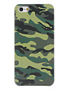 Manly Camouflage Style Matte PC Hard Case for iPhone 5/5S
