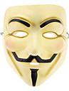 Bege ABS Máscara para o Dia das Bruxas