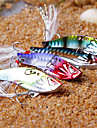 "1 pcs Hard Bait Metal Bait Vibration/VIB Fishing Lures Vibration/VIB Hard Bait Metal Bait g / Ounce, 40mm mm / 1-5/8"" inch, Metal Sea"