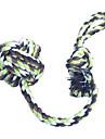 Jouet pour Chat Jouet pour Chien Jouets pour Animaux Jouets de mastication Corde Boutons Vert Bleu Tissu