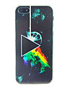 Triangle with Fire Embossment Back Case for iPhone 5/5S