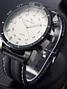 V6 남성용 스포츠 시계 밀리터리 시계 패션 시계 손목 시계 석영 일본 쿼츠 큰 다이얼 실리콘 밴드 멋진 블랙