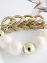 Version coréenne du hot-vente de mode élégante perle Bracelet os de serpent B1