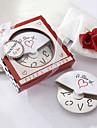 Кусочек Любовь нержавеющей стали Нож для пиццы в миниатюрную коробочку Pizza сувениры