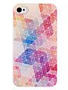 Rhombus cas de dos de grain pour l'iPhone 4/4S