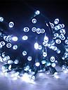 22M Solar Power 200 lumiere blanche LED Fee cordes Lampe Xmas Party de mariage Decor de jardin
