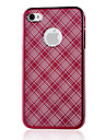 Rose Mirror Pattern Protection PC Hard Case for iPhone4/4S(Color Randoms)