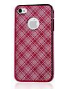 rosa espelho padrao de protecao caso dificil pc para iphone4/4s