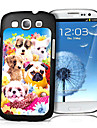 Dog Pattern 3D Effect Case for Samsung S3 I9300 Cases / Covers for Samsung