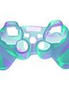 Пластиковый защитный чехол для PS3 Беспроводной контроллер - Светло-голубой
